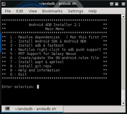 SCRIPT] [Ubuntu] ADB, Android SDK, Nautilus right-click to