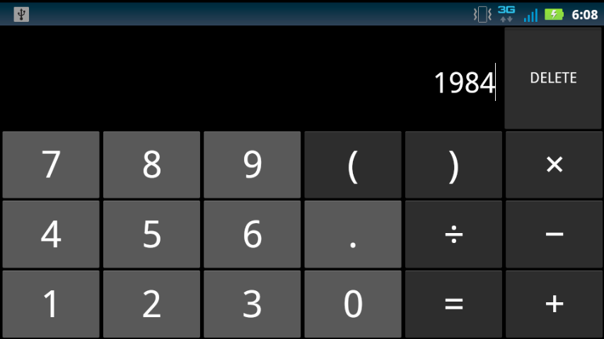 calculator in android code