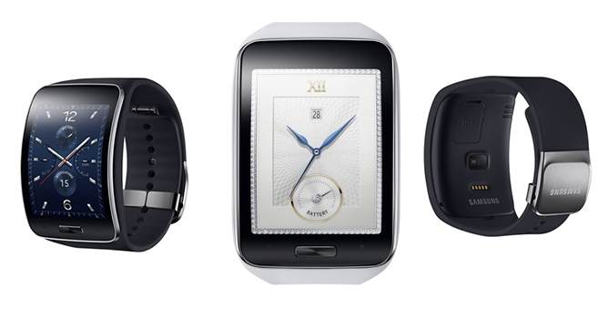 Samsung announces the Gear S and Gear Circle