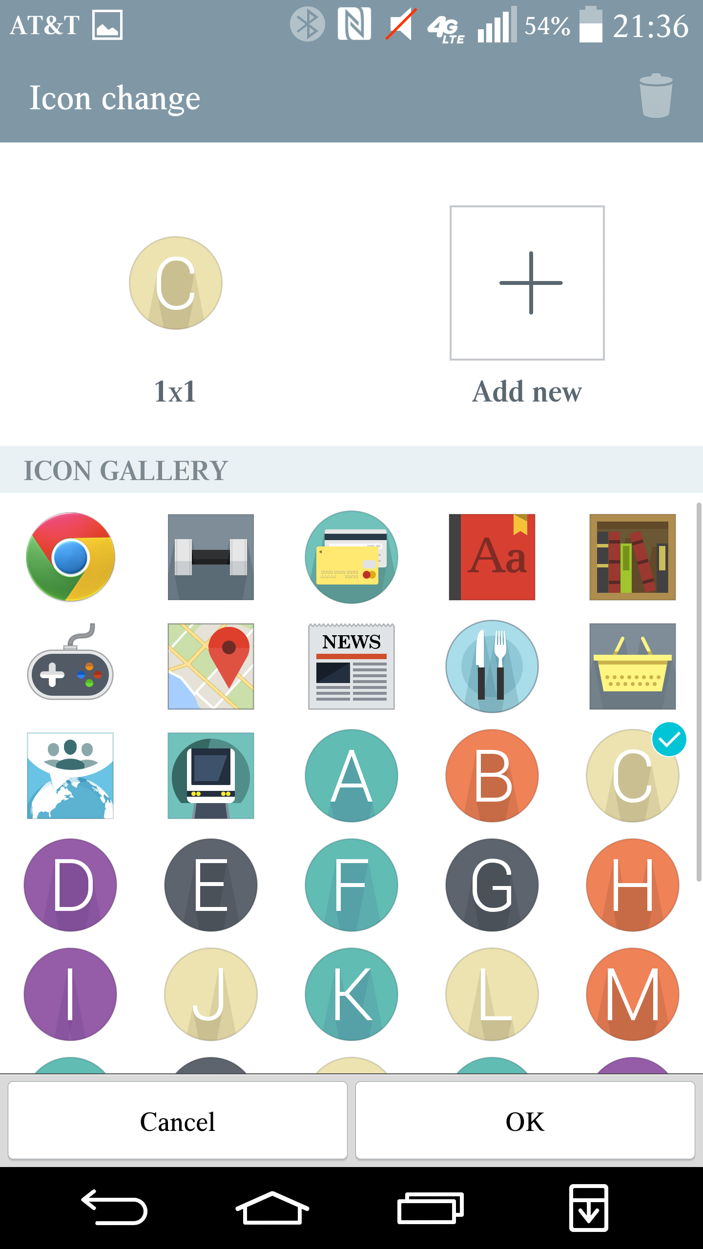 The Vion icon pack is available for $1.99 in the Play Store.