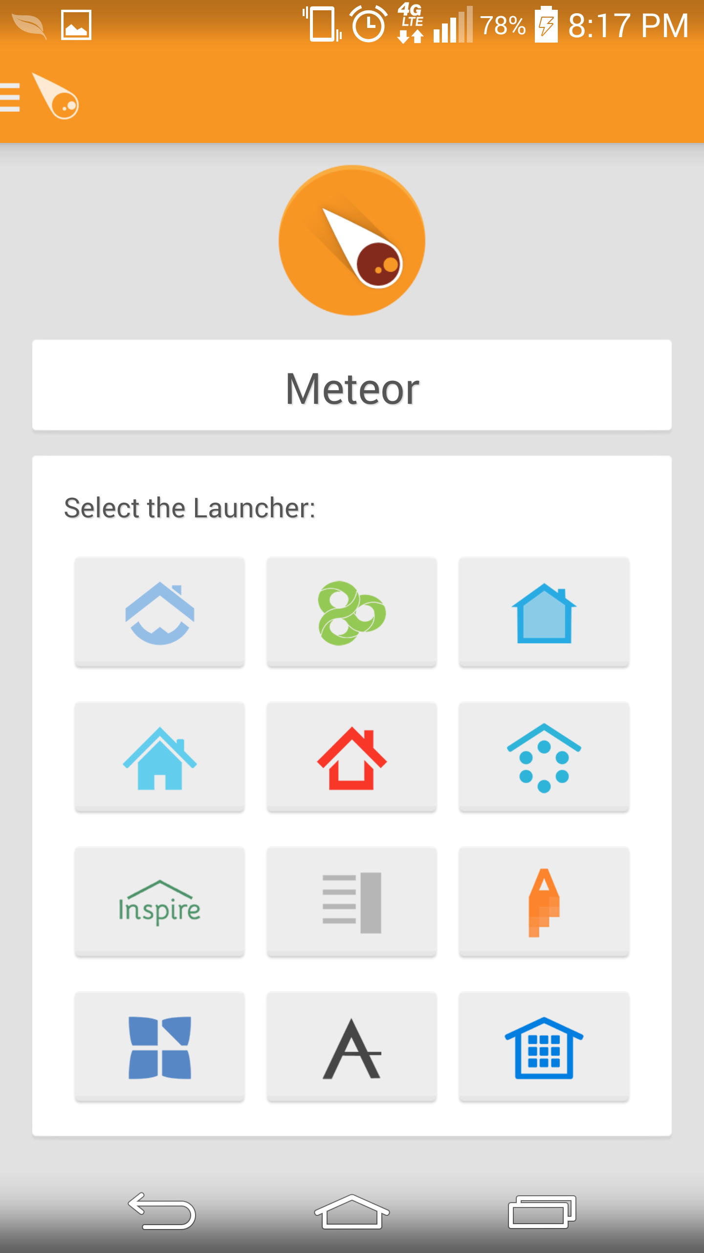 empire launcher feature