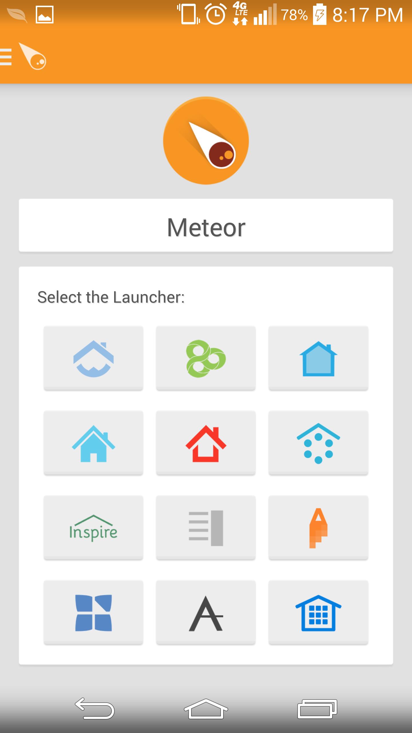 empire launcher feature